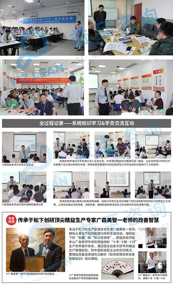 精益現場管理培訓-現場改善培訓-廣州益至企業管理咨詢公司